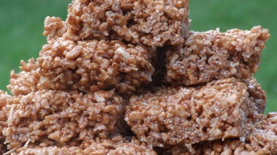 Photo of Coconut and Chocolate Rice Crispies by Katharine Vogel