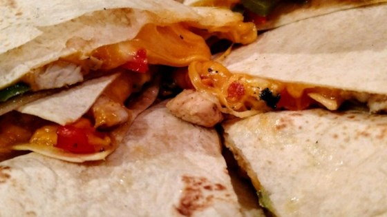 Chicken quesadillas recipe allrecipes chicken quesadillas forumfinder Gallery