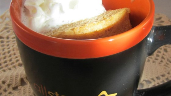 Photo of Pumpkin Pie Mug Cake by Shelby