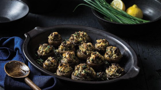 Photo of Sausage Stuffed Mushrooms by From the Kitchen at Johnsonville Sausage