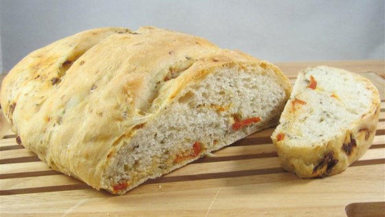 Photo of No-Knead Sun-dried Tomato Garlic Basil Bread by SPICYGIRL