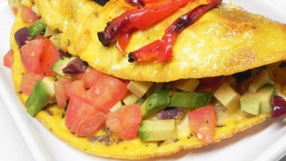 Avocado Greek Omelet