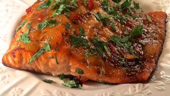 Photo of Salmon with Mango and Lime by Bibi