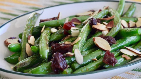 Photo of Chef Bill's Green Bean Almondine with Cranberries by Billy Lee Cuthbertson Jr