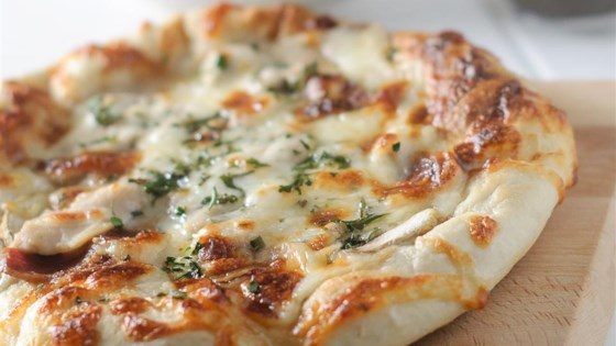 Photo Of Grilled Chicken Alfredo Flatbread Pizzas By KGora