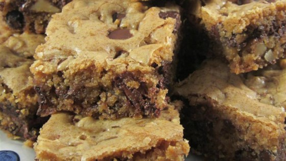 Photo of Kirsten's Dark Chocolate Chip Cookie Bars by KIRSTENLIV