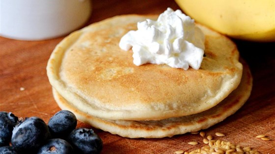Photo of Easy Flourless Banana Flax Pancakes by Kelly'sKitchen