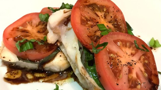 Photo of Alaskan Halibut Caprese by mmm...food