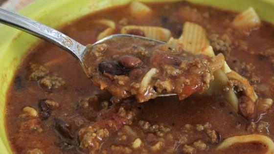 Photo of Bean & Pasta Soup by ALICKADOO