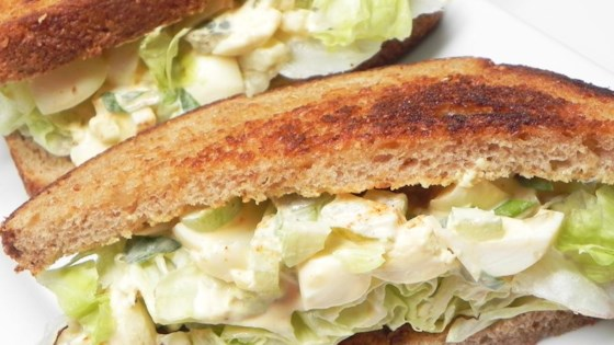 Pickled Egg Salad Sandwich