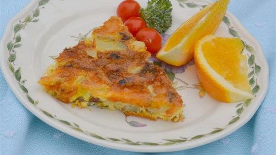 Photo of Corned Beef Hash Crustless Quiche by Laura