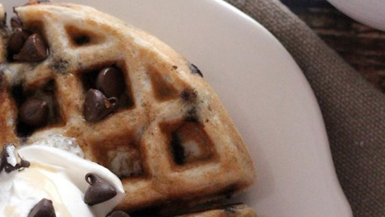 Photo of Gluten-Free Chocolate Chip Cookie Waffles by CoOkInGnUt