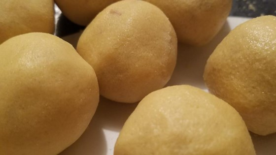 Photo of Besan Laddu by Chantal Perez
