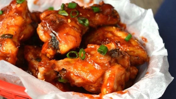 Photo of Sweet and Spicy BBQ Chicken Wings by RainbowJewels