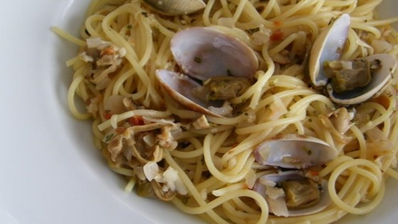 Photo of Spaghetti and Clams by Cindy