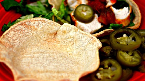 Photo of Homemade Tortilla Bowl by Jeanette
