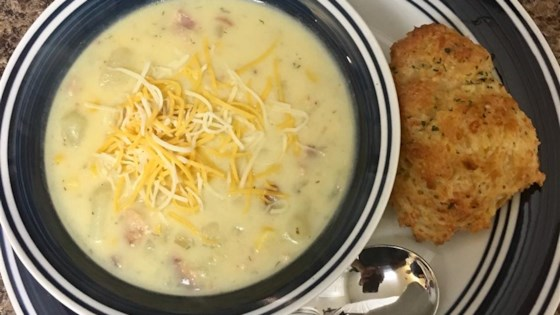 Photo of Quick Creamy Potato Soup by Amanda