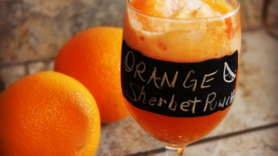 Photo of Orange Sherbet Punch  by Sarah V
