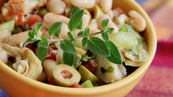 Photo of Cannellini Bean and Artichoke Salad by Barry Heuser