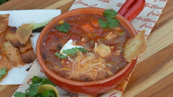 Photo of Spicy Chicken Tortilla Soup by frankp