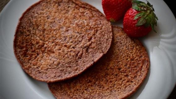 Photo of Strawberry Oat Chocolate Chip Greek Yogurt Pancakes by Megan Olson