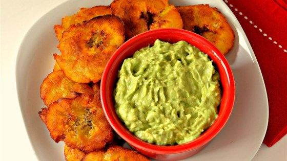 Photo of Fried Plantains With Avocado Dip by Lilly In The Kitchen