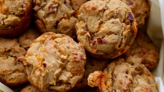 Photo of Savory Sweet Potato Muffins with Bacon by avecchocolat
