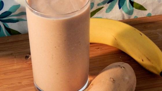 Sweet Potato-Banana Smoothie
