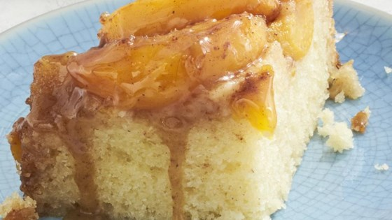 Photo of Slow Cooker Peach Upside Down Cake by cupcakeproject