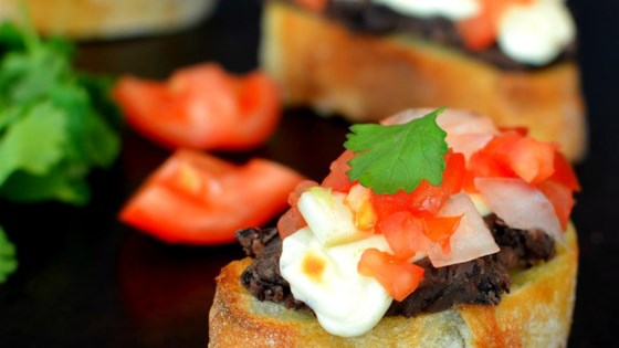 Photo of Mini Molletes de Frijoles (Mexican Bruschetta with Beans) by 1-800-FLOWERS