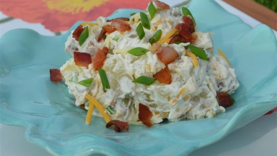 Loaded Baked Red Potato Salad Recipe