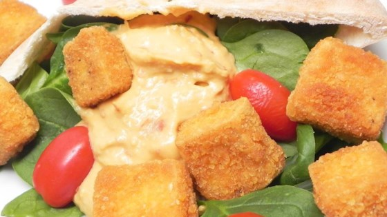Cheez-It® Fried Tofu Pita Pocket