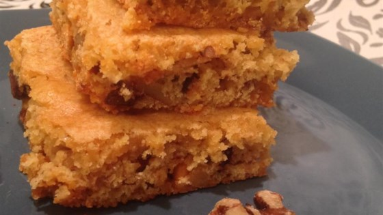 Photo of Naughty Nutty Blondies  by Sara Homsher
