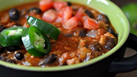 Betsy's Black Bean Chili