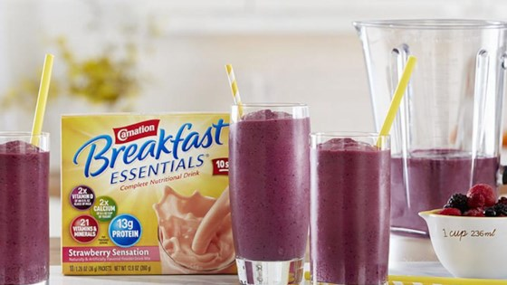 Photo of Berry Smoothie from Carnation Breakfast Essentials® by Carnation Breakfast Essentials