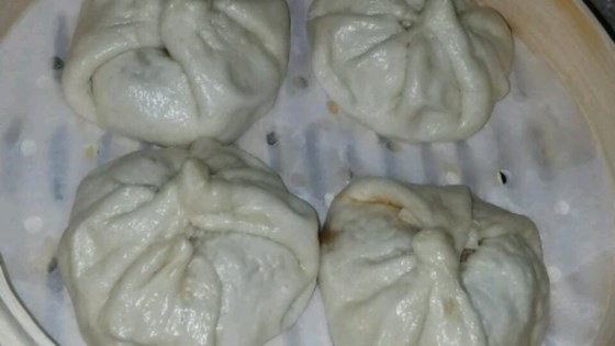 Chinese Steamed Buns with BBQ Pork Filling Recipe