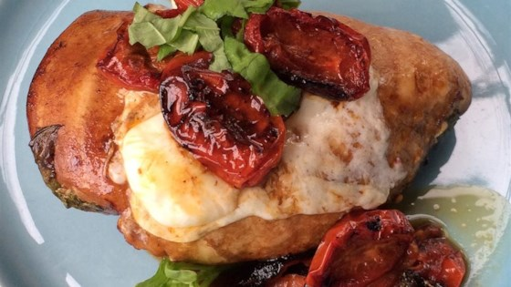 Photo of Baked Caprese Chicken by Ms. Chef Esh
