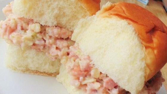 Photo of Cajun Ham Salad Sandwiches by Karen Barris Calabro