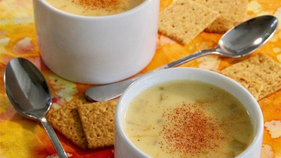 Photo of Yummy Cheese Soup by fuzzy656