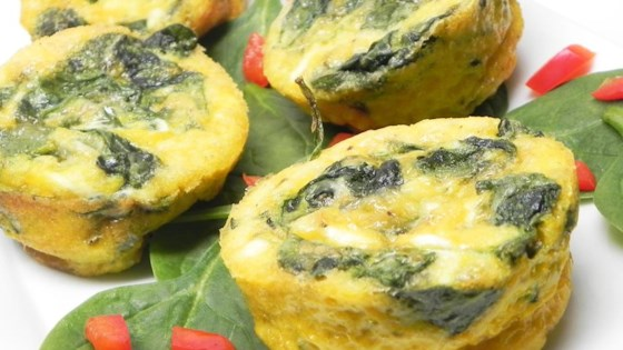 Baked Spinach and Egg White Muffins