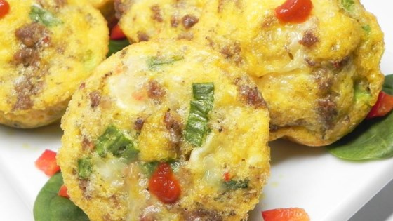 Photo of Sausage and Scallion Egg Muffins by Cindy Anschutz Barbieri
