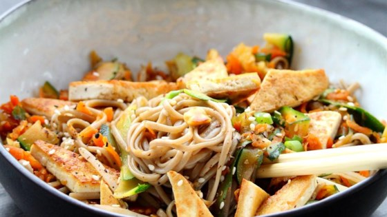 Photo of Tamarind Tofu with Vegetables and Soba by Jocelyn Helling
