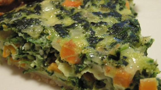 Photo of Spinach and Carrot Quiche by CRISTEN1