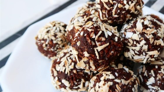 Photo of Vegan Truffles - Toasted Coconut by FeliciaH