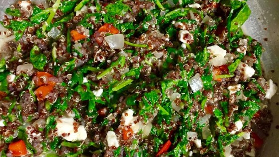 Photo of Red Quinoa and Tuscan Kale by Selayma