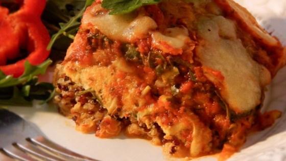 Photo of Go Back for Seconds Quinoa Lasagna by leosmum