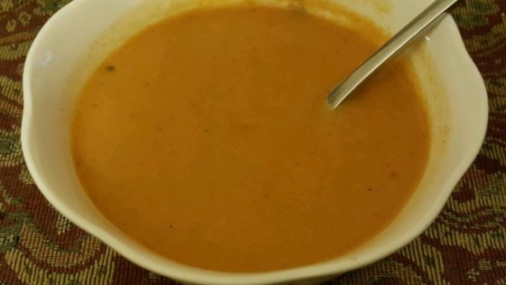 Photo of Creamy Carrot With Curry Soup by USA WEEKEND columnist Pam Anderson