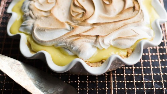 Coconut and Lemon Cream Pie