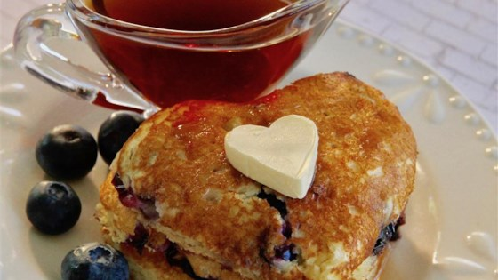 Photo of Blueberry Almond Pancakes by ChefNYC