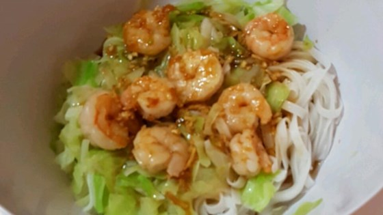 Photo of Grilled Shrimp Rice Noodle Bowl by LarryB